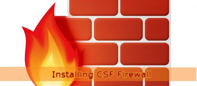 Installing CSF Firewall