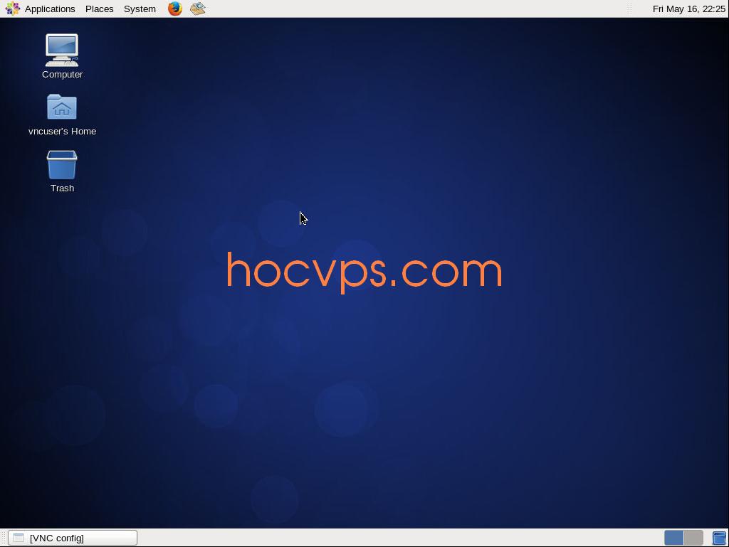 Hướng dẫn cài đặt VNC Server trên CentOS - Học VPS