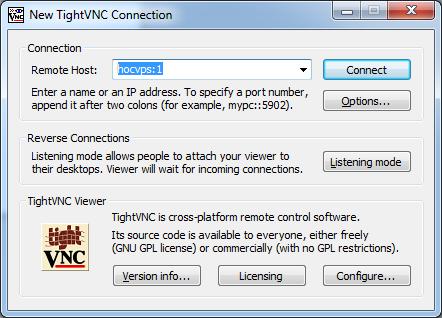 Kết quả hình ảnh cho kết nối VNC Server